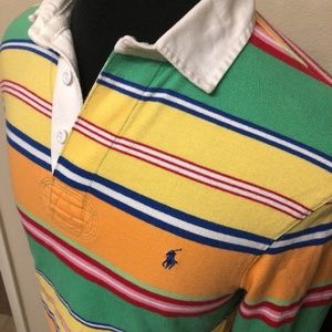 Vintage Men's Polo Shirt 100% Cotton Size S